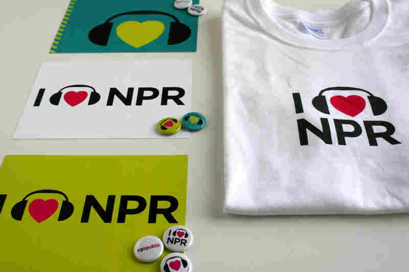 Silver DC Addy 2012: The I Heart NPR campaign has become one of NPR's most visible designs. It's the heart of a This is NPR photo series on this blog and on Facebook, remains a regular feature in the lobby at NPR HQ in DC, made its way into at least one wedding and has even trekked with NPR Music staff to summer festivals.