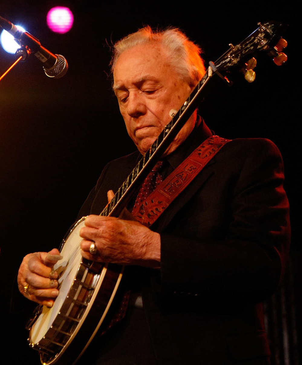 Earl Scruggs during a show in Indio, Calif., on May 3, 2008.