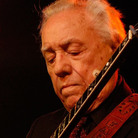 Earl Scruggs shown during a show in Indio, Calif., on May 3, 2008.