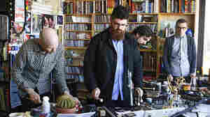 So Percussion performs a Tiny Desk Concert at the NPR Music offices on Jan. 31, 2012.