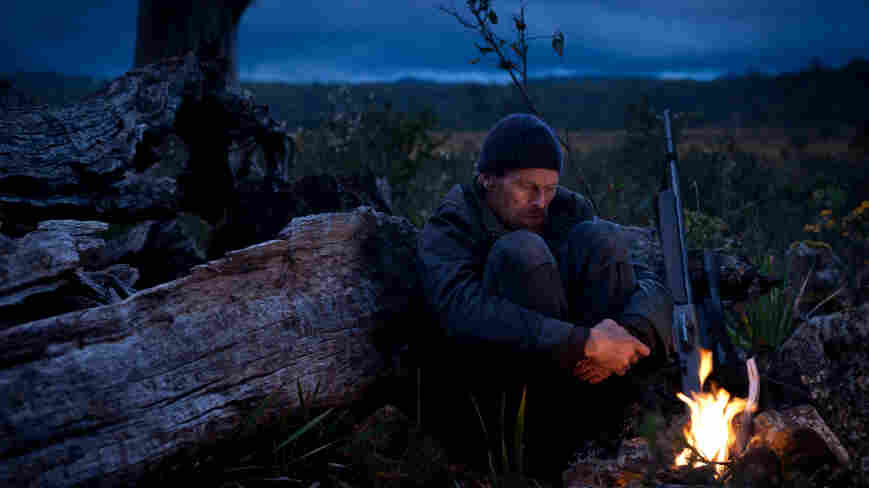 In The Hunter, Willem Dafoe plays a stoic mercenary hired to hunt the last remaining Tasmanian tiger.