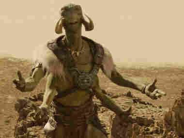 In John Carter, Dafoe plays Tars Tarkas, a nine-foot-tall alien warrior. Dafoe says the motion capture performance involved much more than simply voice-acting.