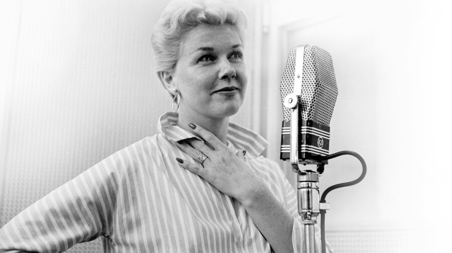 Image result for doris day singing