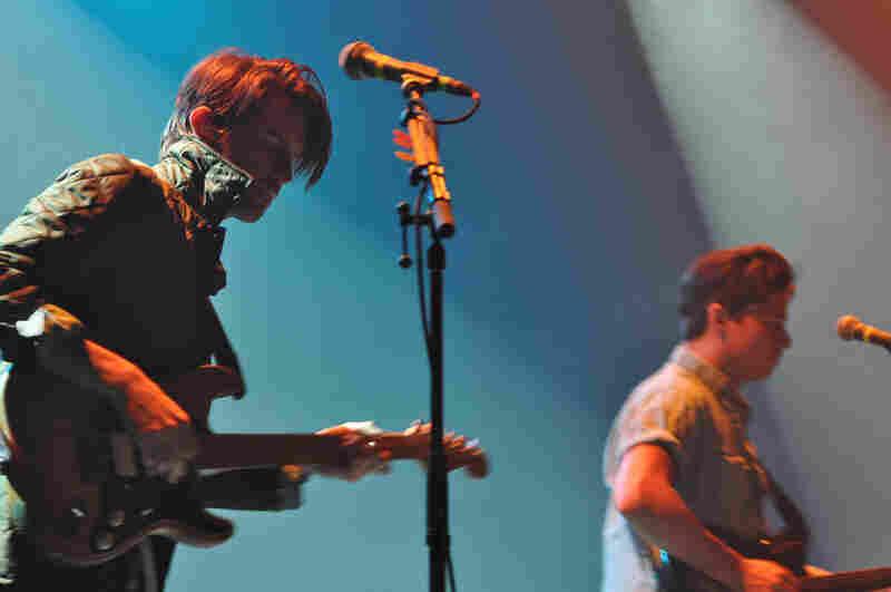 Delta Spirit guitarist Will McLaren (left) and Matt Vazquez.