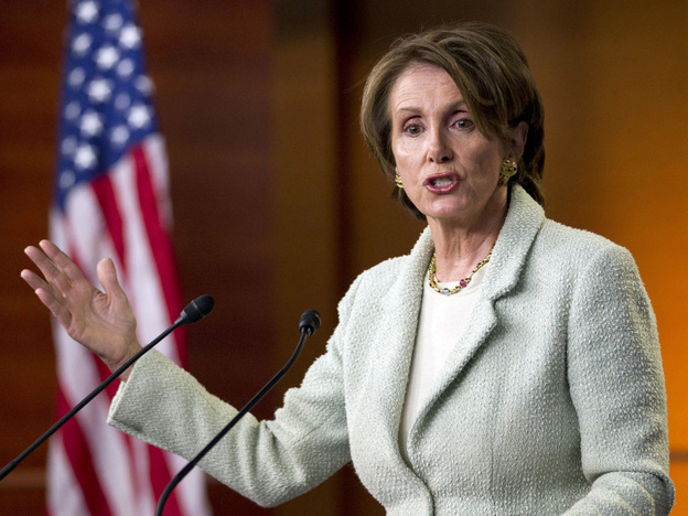 Nancy Pelosi has raised $300 million for Democrats. (ASSOCIATED PRESS)