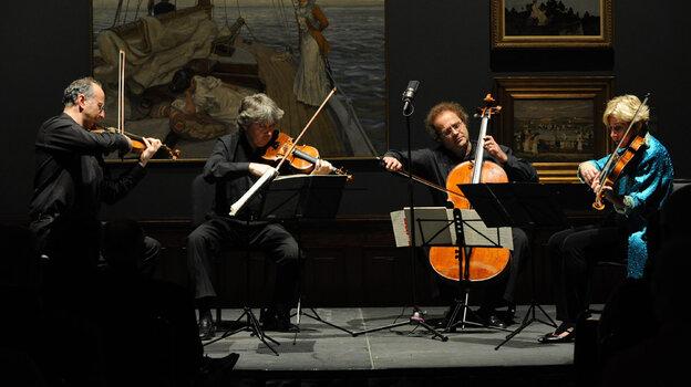 The Takacs Quartet played Bartók and Schubert last week at the Savannah Music Festival.