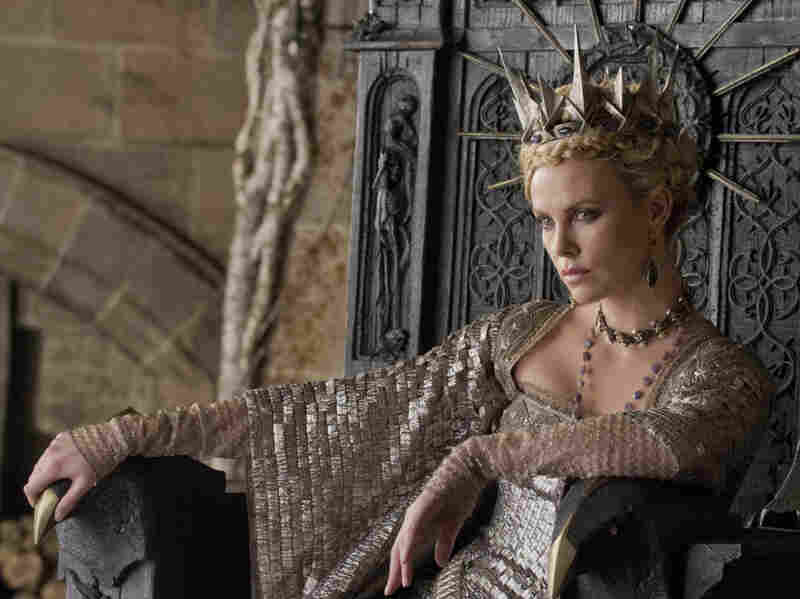 Charlize Theron plays the evil Queen in the upcoming dark adaptation Snow White and the Huntsman.