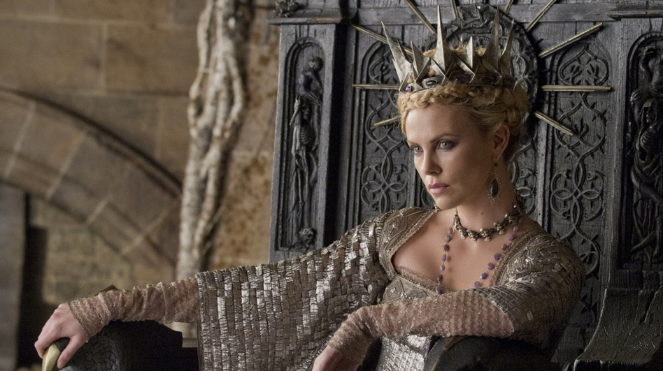 Charlize Theron plays the evil Queen in the upcoming dark adaptation Snow White and the Huntsman. (Universal Pictures)