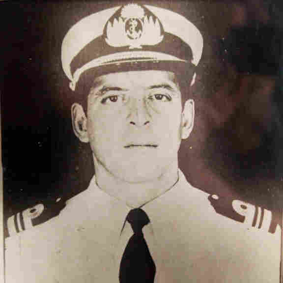 Capt. Pedro Giachino is considered a hero by some for having given his life in the Falkland Islands invasion. Human rights groups, however, say he was a henchman of Argentina's brutal military dictatorship.