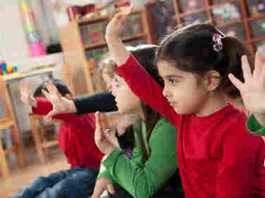 At the Porsafillo Preschool Academy, there are 32 spots but more than 12,000 applications.