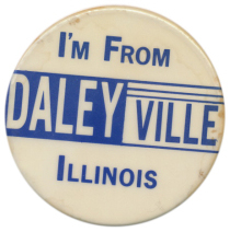 Daleyville button