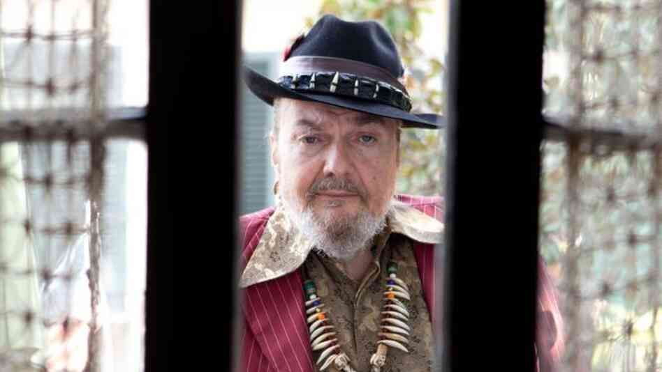 Dr. John's newest album, Locked Down, comes out Tuesday.