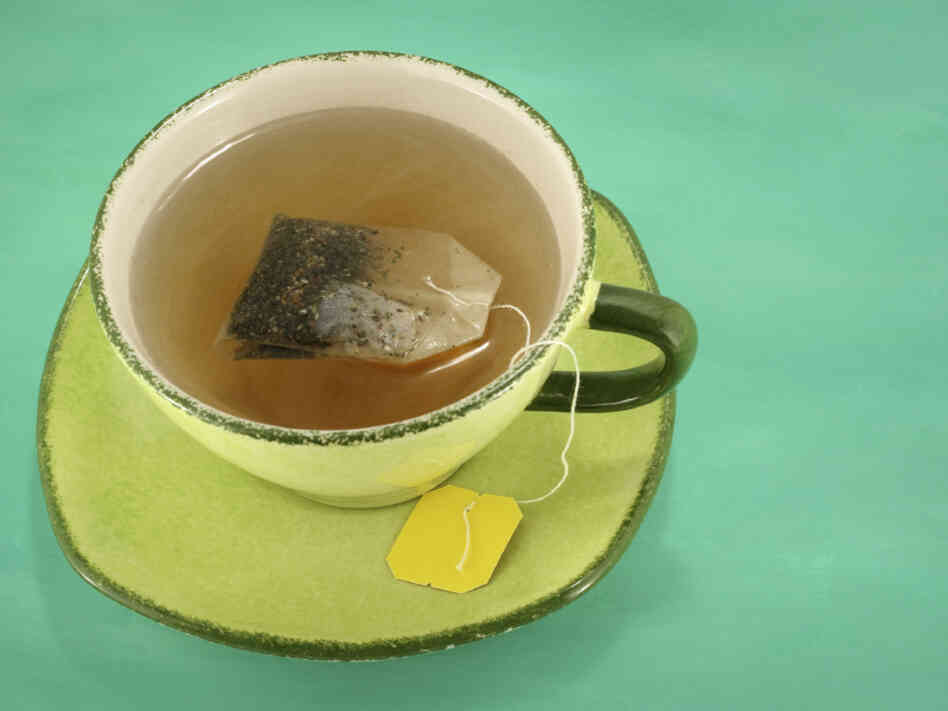 """Tea"" (a social word from the 17th century) is one of the words David Crystal examines in his book The Story of English In 100 Words."