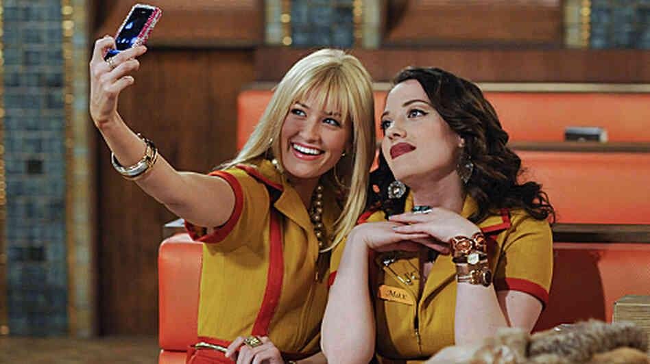 Beth Behrs and Kat Dennings star on CBS's 2 Broke Girls.