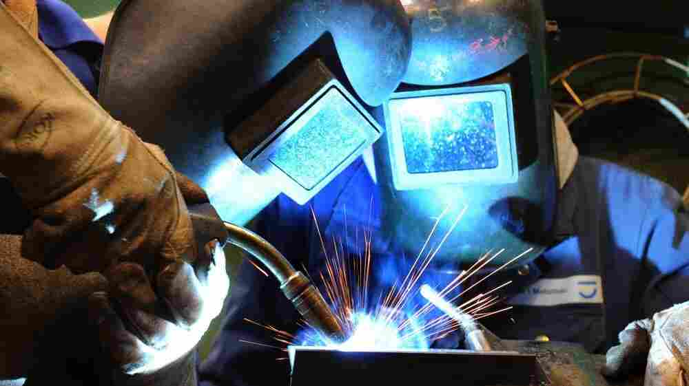 Metal-working apprentices train in Leipzig, Germany, in 2010. Germany has Europe's lowest youth unemployment rate, thanks in part to its ancient apprentice system, which trains about 1.5 million people each year.