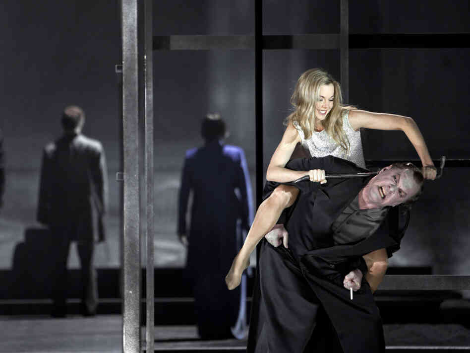 Daniel Barenboim directs the opera, Lulu, at the Staatsoper Berlin.