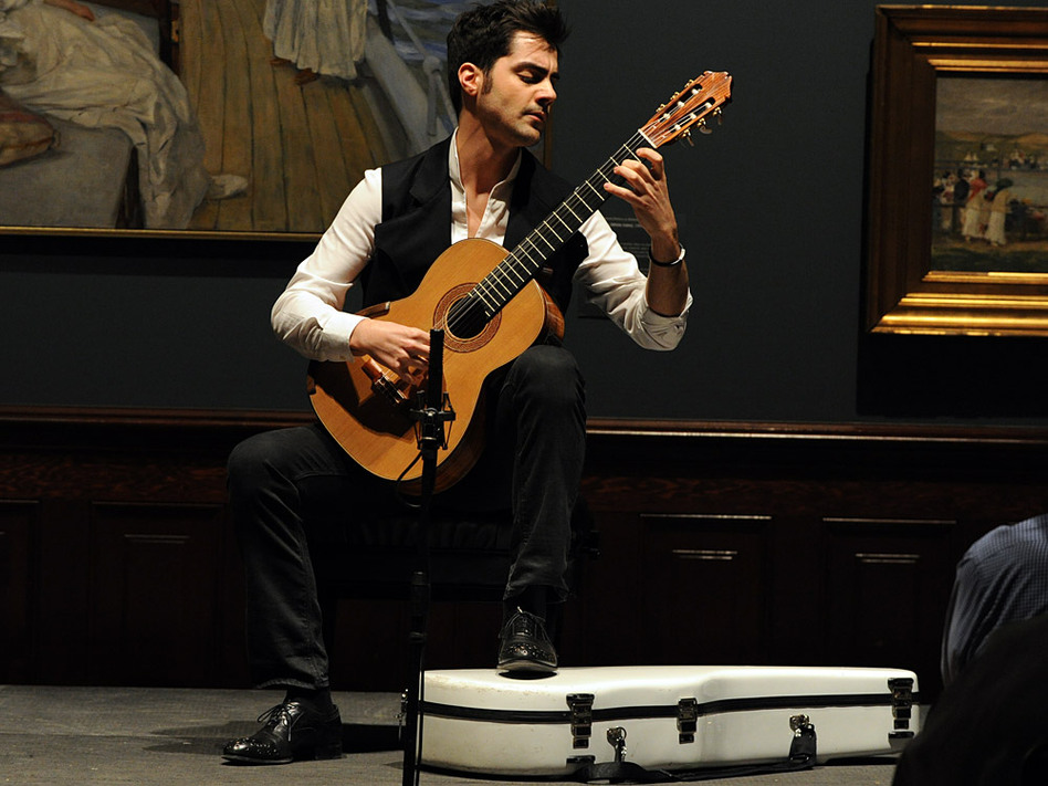 Guitarist Milos Karadaglic appeared in recital at the Savannah Music Festival.