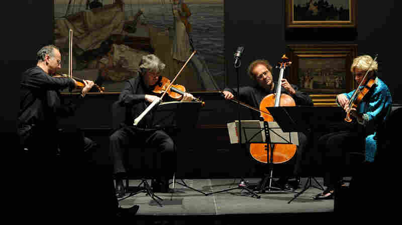 The Takacs Quartet played Bartok and Schubert last week at the Savannah Music Festival.