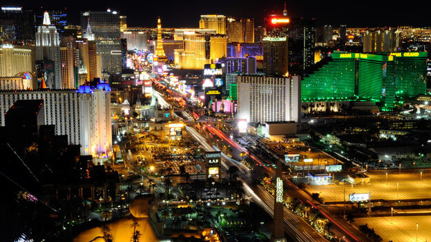 The Las Vegas Strip: sometimes what happens there does come back to bite you.