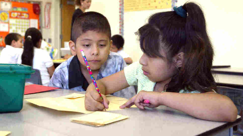 Because these Chicago second-graders are bilingual, they may be better protected later in life against the ravages of dementia.