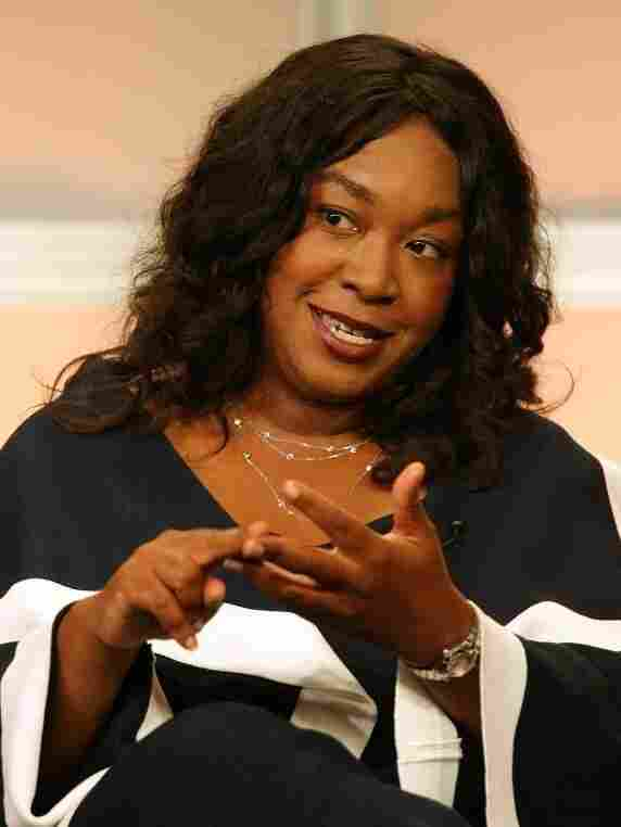 Scandal and Grey's Anatomy creator/executive producer Shonda Rhimes speaks during the 2007 Television Critics Association summer press tour.