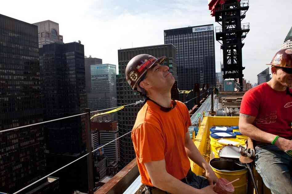 """Kaniehtakeron """"Geggs"""" Martin is a fourth-generation ironworker from Kahnawake, a Mohawk reservation south of Montreal."""