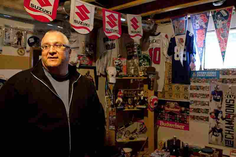 Kahnawake Grand Chief Mike Delisle comes from an ironworking family. He keeps plans from the original World Trade Center and his father's wrenches in his basement.