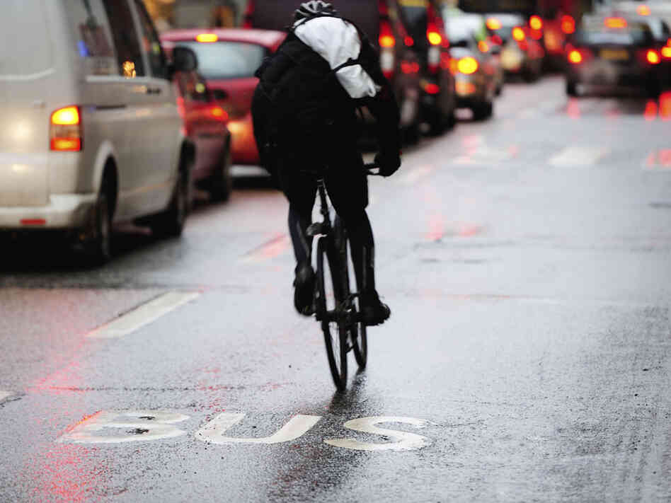 In our second hour, guests talk about how the bad behavior of some bicyclists could present a road block on how cities adapt to them.