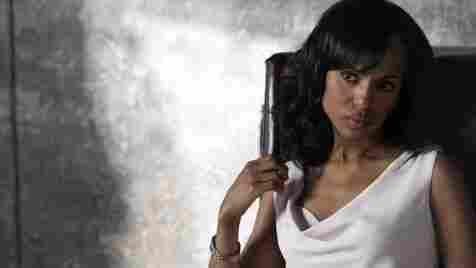 Kerry Washington plays Olivia Pope on ABC's new drama, Scandal.