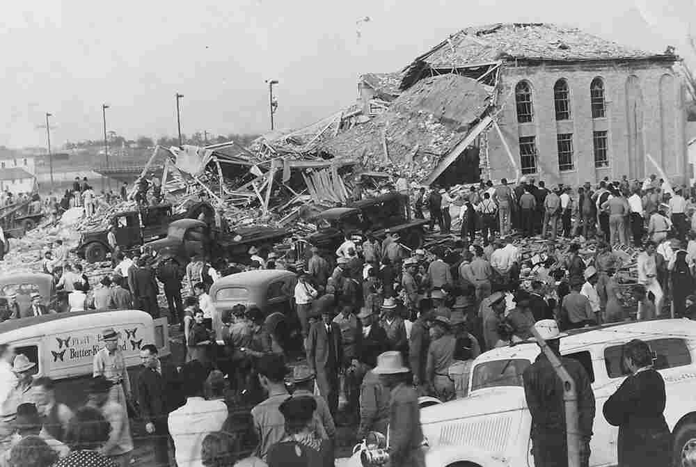 75 years later the day the town school exploded npr