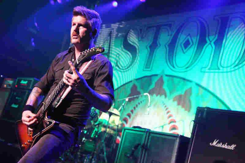Only Marshall stacks can match the massive riffs of Mastodon.
