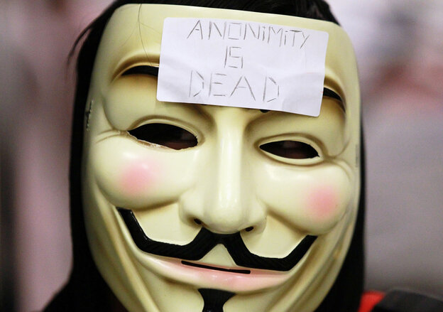 In January, the hacker group Anonymous staged a demonstration at a BART station in San Francisco after officials turned off cell phone service in its stations.