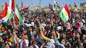 With A Dose Of Caution, Kurds Oppose Syrian Regime