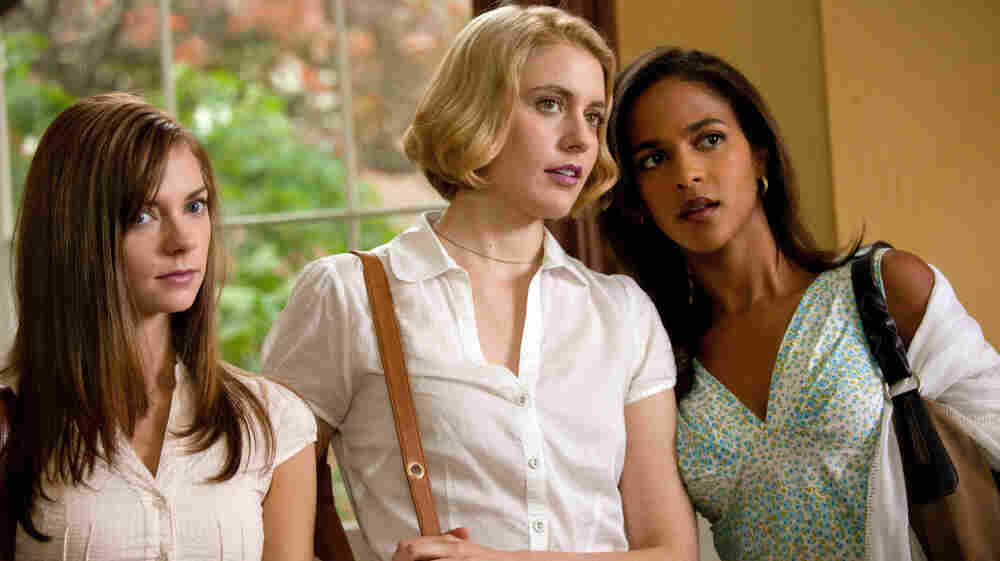College do-gooders Heather (Carrie MacLemore), Violet (Greta Gerwig) and Rose (Megalyn Echikunwoke) take it upon themselves to improve the lives of everyone around them — including those