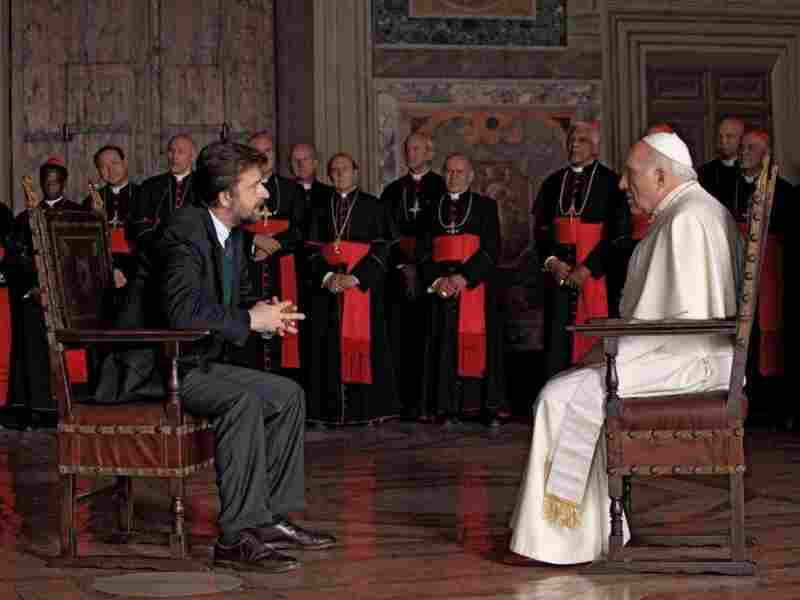 Group Therapy: Director Nanni Moretti (left) plays an agnostic psychiatrist summoned to the Vatican to counsel the pope — but he's advised not to ask about sensitive topics.
