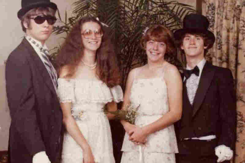 "P.J. Marcy, 1980: ""I figured hideous was what you were looking for ... and my photo is that! This was senior prom 1980, Newburyport High School, Newburyport, Mass. """