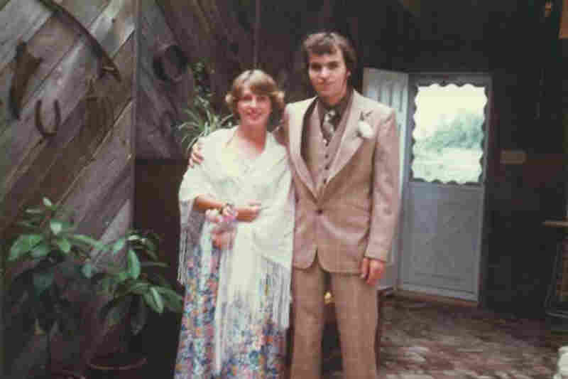 """Norah Ringma, 1978: """"Kemptville, Ontario, Canada. ... What's with that hair — both of us?"""""""