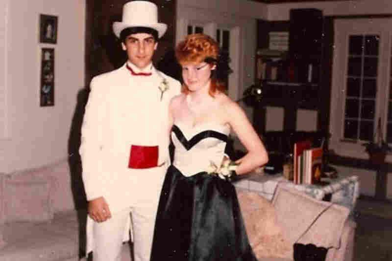 "Mich Sullivan, 1985: ""Me and my buddy Russ ... Weston High junior prom, Weston, Mass."""