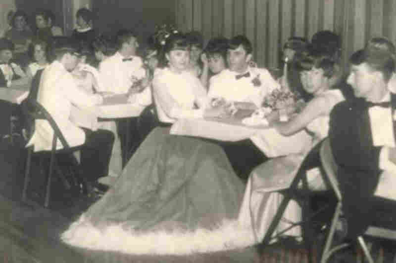"Kipp Matalucci: ""I would not call my date's Gone-With-the-Wind gown 'weird,' but it was an unusual choice for the Penns Grove junior prom of 1968. It was an early example of thinking outside of the box, a term that didn't exist in 1968."""