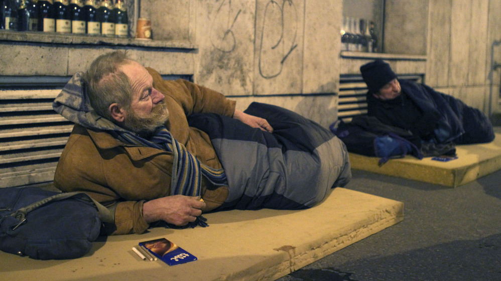 Rezultat slika za orban homeless people