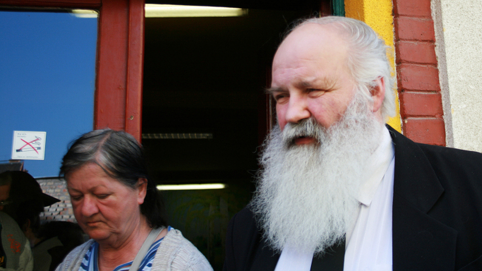 Gabor Ivanyi is a Methodist pastor and homeless advocate who runs the Danko street shelter.