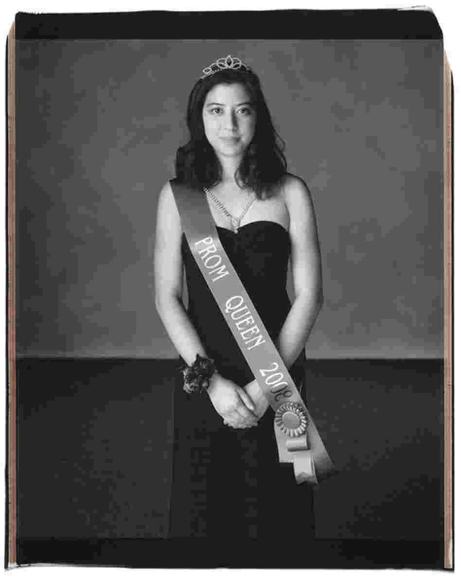 "Christina Chang, Austin, Texas, 2008: ""I'm actually a nominee for Miss Westlake, which is the senior girl who has contributed the most to her school in terms of leadership, character, honesty, improvement to the school and its individuals,"" Chang says."