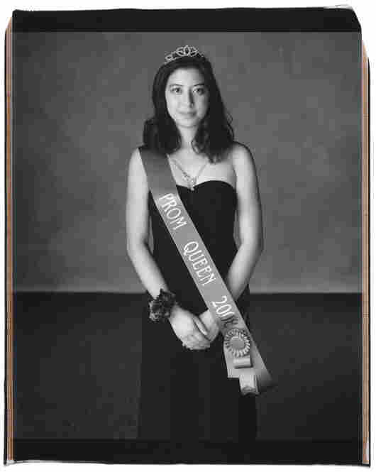 """Christina Chang, Austin, Texas, 2008: """"I'm actually a nominee for Miss Westlake, which is the senior girl who has contributed the most to her school in terms of leadership, character, honesty, improvement to the school and its individuals,"""" Chang says."""