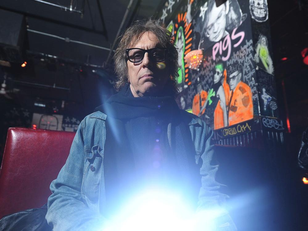 Photographer Mick Rock in New York City, 2011