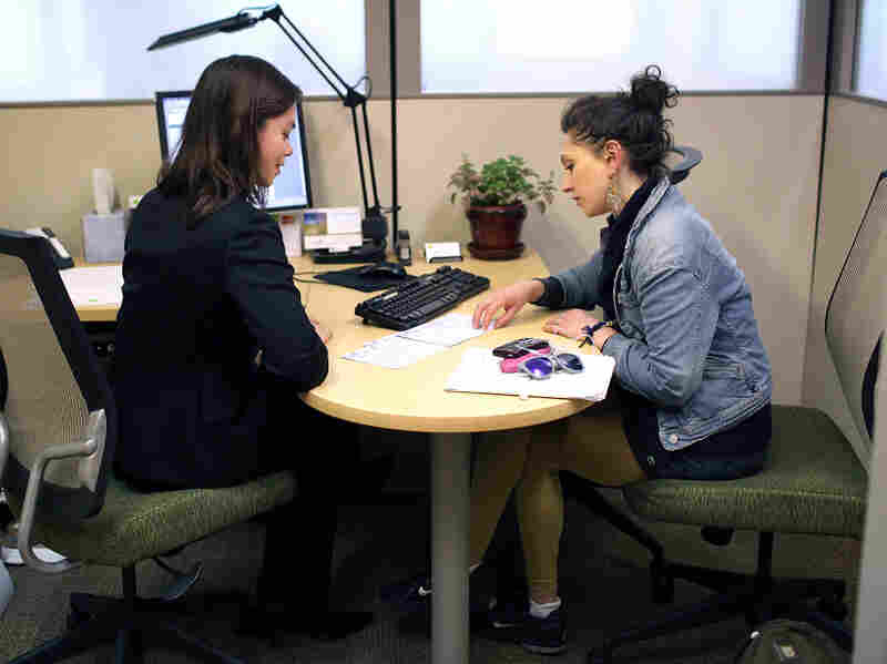 Which tax preparation service is best? That's what writer Joel Stein hoped to find out when he took his 2011 income data to different firms — including an H&R Block office, seen here in a file photo from last year's tax season.
