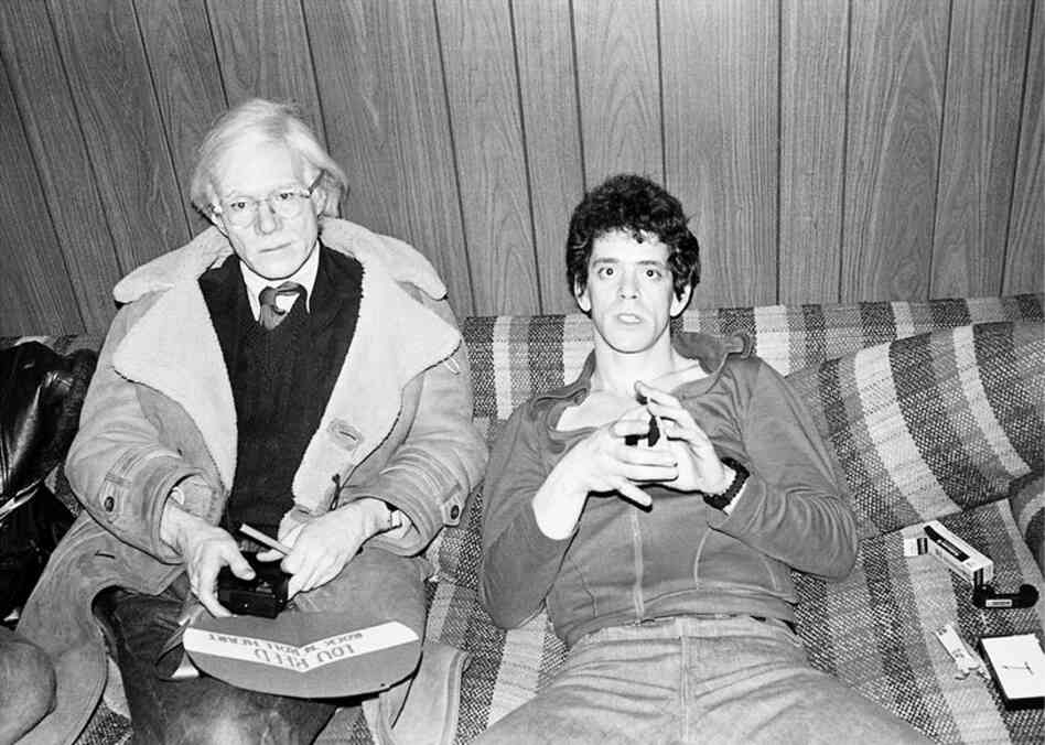 Andy Warhol, Lou Reed, New York, 1976