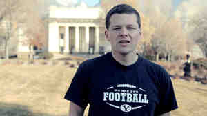 "A screengrab from the ""It Gets Better"" video created by gay and lesbian students at Brigham Young University."
