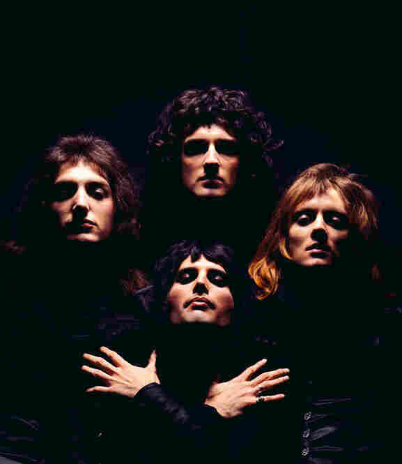 Queen II album cover, London, 1974