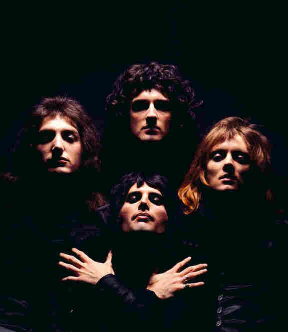 Queen II album cover, London, 1974