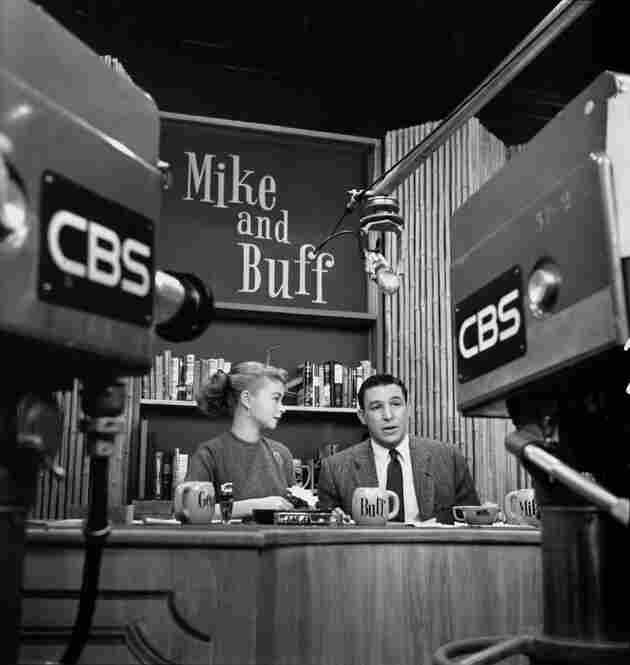 """Wallace joined CBS in 1951, co-hosting the talk show """"Mike & Buff"""" with his then-wife, Buff Cobb."""